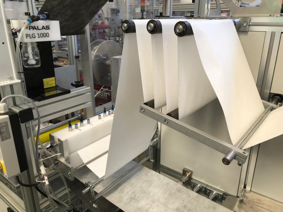 生产线上的滤料监测技术